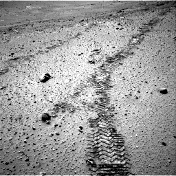 Nasa's Mars rover Curiosity acquired this image using its Right Navigation Camera on Sol 565, at drive 448, site number 29