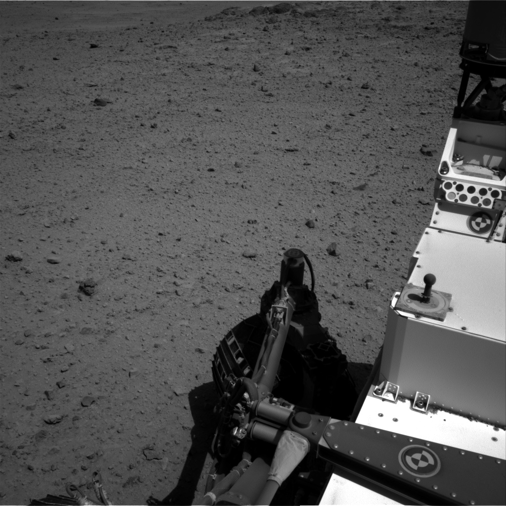 Nasa's Mars rover Curiosity acquired this image using its Right Navigation Camera on Sol 565, at drive 490, site number 29