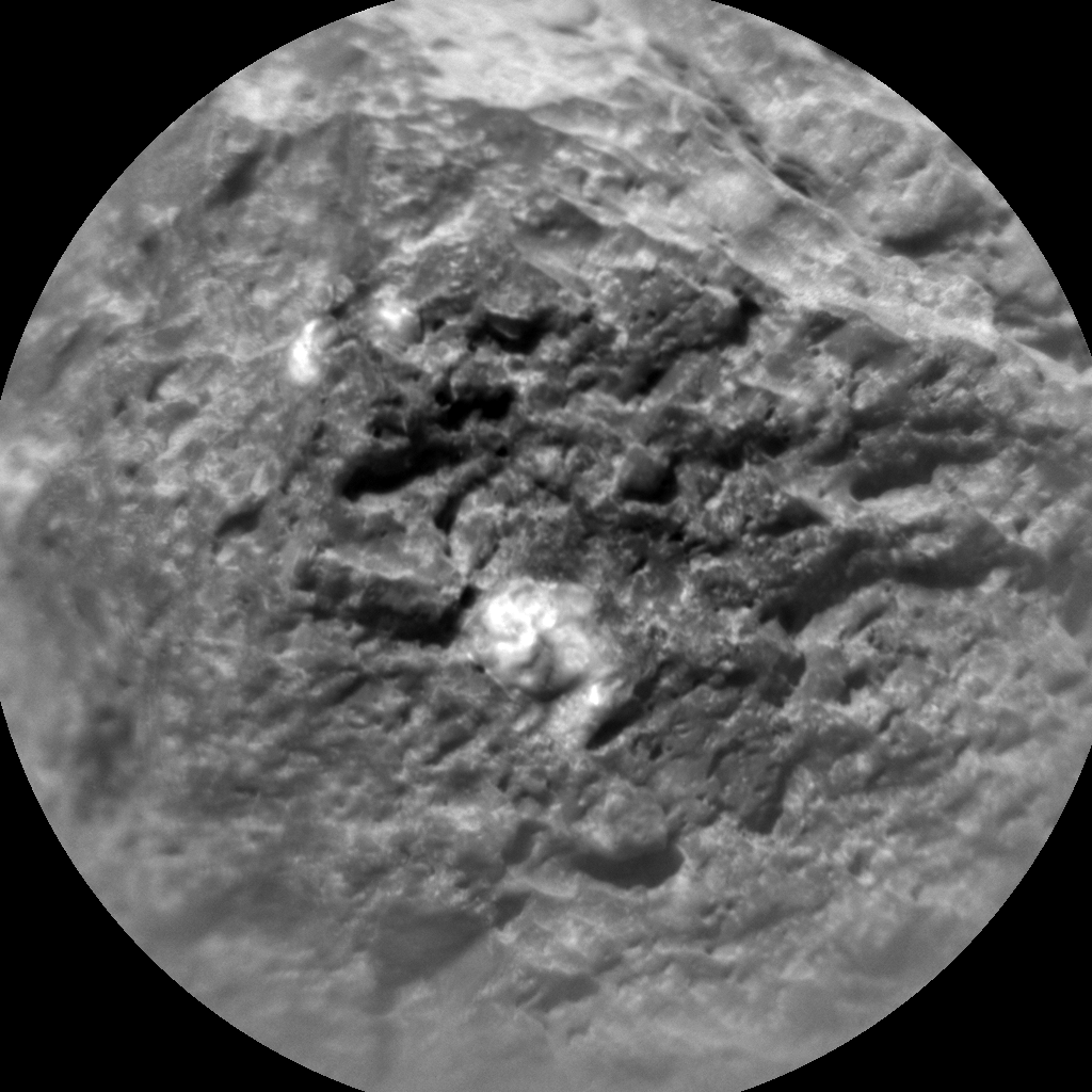 Nasa's Mars rover Curiosity acquired this image using its Chemistry & Camera (ChemCam) on Sol 567, at drive 566, site number 29