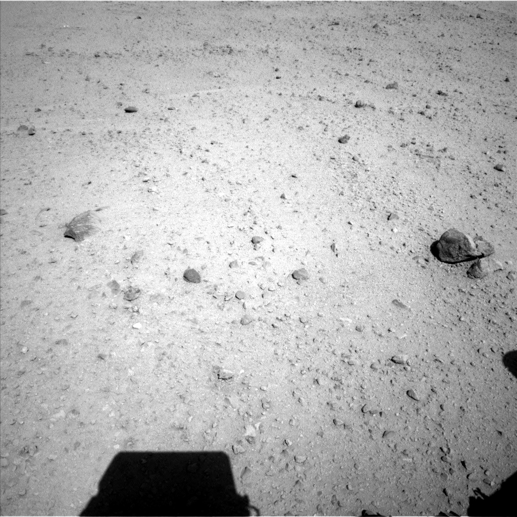 Nasa's Mars rover Curiosity acquired this image using its Left Navigation Camera on Sol 568, at drive 974, site number 29