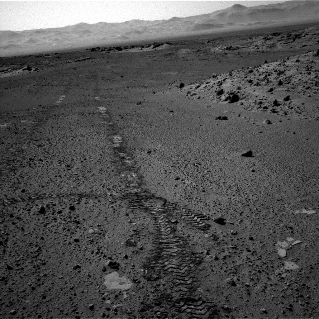 Nasa's Mars rover Curiosity acquired this image using its Left Navigation Camera on Sol 568, at drive 1020, site number 29