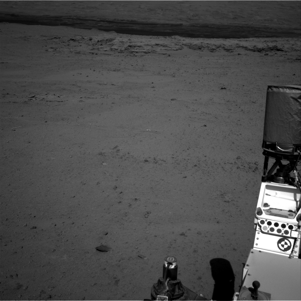 Nasa's Mars rover Curiosity acquired this image using its Right Navigation Camera on Sol 568, at drive 1020, site number 29