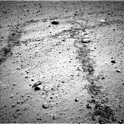 Nasa's Mars rover Curiosity acquired this image using its Left Navigation Camera on Sol 569, at drive 1074, site number 29