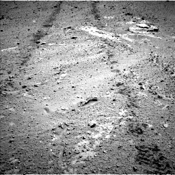 Nasa's Mars rover Curiosity acquired this image using its Left Navigation Camera on Sol 569, at drive 1140, site number 29