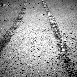 Nasa's Mars rover Curiosity acquired this image using its Left Navigation Camera on Sol 569, at drive 1362, site number 29