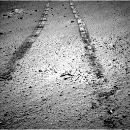 Nasa's Mars rover Curiosity acquired this image using its Left Navigation Camera on Sol 569, at drive 1374, site number 29