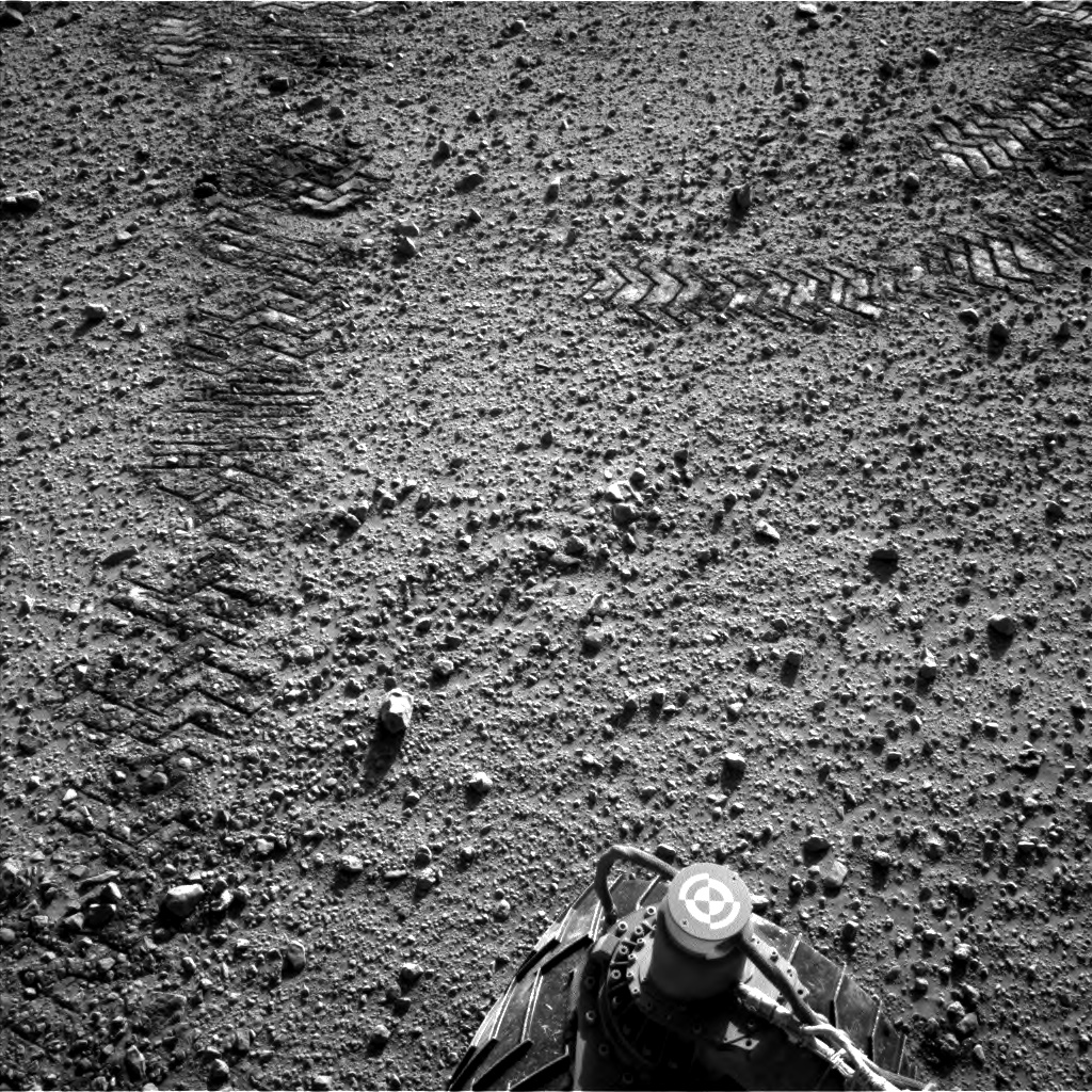 Nasa's Mars rover Curiosity acquired this image using its Left Navigation Camera on Sol 569, at drive 0, site number 30