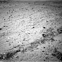 Nasa's Mars rover Curiosity acquired this image using its Right Navigation Camera on Sol 569, at drive 1038, site number 29