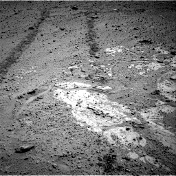 Nasa's Mars rover Curiosity acquired this image using its Right Navigation Camera on Sol 569, at drive 1110, site number 29