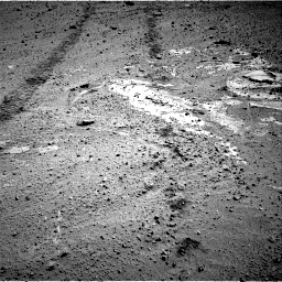 Nasa's Mars rover Curiosity acquired this image using its Right Navigation Camera on Sol 569, at drive 1122, site number 29