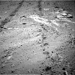 Nasa's Mars rover Curiosity acquired this image using its Right Navigation Camera on Sol 569, at drive 1128, site number 29