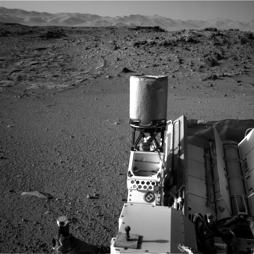 Nasa's Mars rover Curiosity acquired this image using its Right Navigation Camera on Sol 569, at drive 0, site number 30