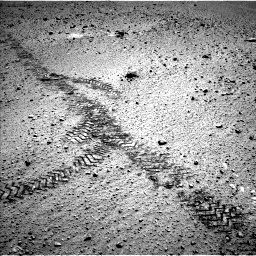 NASA's Mars rover Curiosity acquired this image using its Left Navigation Camera (Navcams) on Sol 571