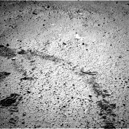 Nasa's Mars rover Curiosity acquired this image using its Left Navigation Camera on Sol 572, at drive 30, site number 30