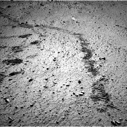 Nasa's Mars rover Curiosity acquired this image using its Left Navigation Camera on Sol 572, at drive 48, site number 30