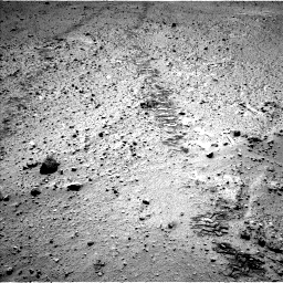 Nasa's Mars rover Curiosity acquired this image using its Left Navigation Camera on Sol 572, at drive 156, site number 30