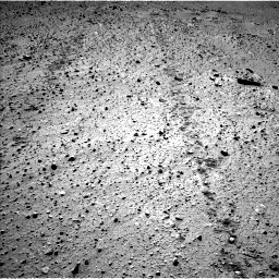 Nasa's Mars rover Curiosity acquired this image using its Left Navigation Camera on Sol 572, at drive 234, site number 30