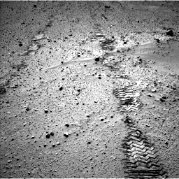 Nasa's Mars rover Curiosity acquired this image using its Left Navigation Camera on Sol 572, at drive 312, site number 30