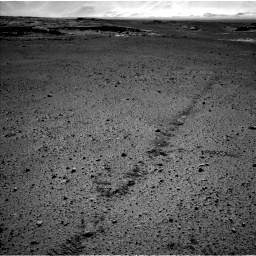 Nasa's Mars rover Curiosity acquired this image using its Left Navigation Camera on Sol 572, at drive 474, site number 30