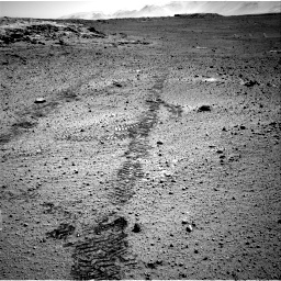 Nasa's Mars rover Curiosity acquired this image using its Right Navigation Camera on Sol 572, at drive 12, site number 30