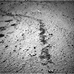 Nasa's Mars rover Curiosity acquired this image using its Right Navigation Camera on Sol 572, at drive 48, site number 30