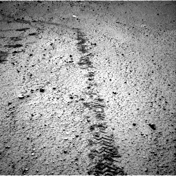 Nasa's Mars rover Curiosity acquired this image using its Right Navigation Camera on Sol 572, at drive 66, site number 30