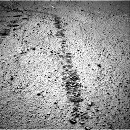 Nasa's Mars rover Curiosity acquired this image using its Right Navigation Camera on Sol 572, at drive 72, site number 30