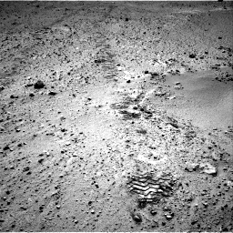 Nasa's Mars rover Curiosity acquired this image using its Right Navigation Camera on Sol 572, at drive 168, site number 30