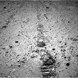 Nasa's Mars rover Curiosity acquired this image using its Right Navigation Camera on Sol 572, at drive 282, site number 30