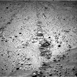 Nasa's Mars rover Curiosity acquired this image using its Right Navigation Camera on Sol 572, at drive 288, site number 30