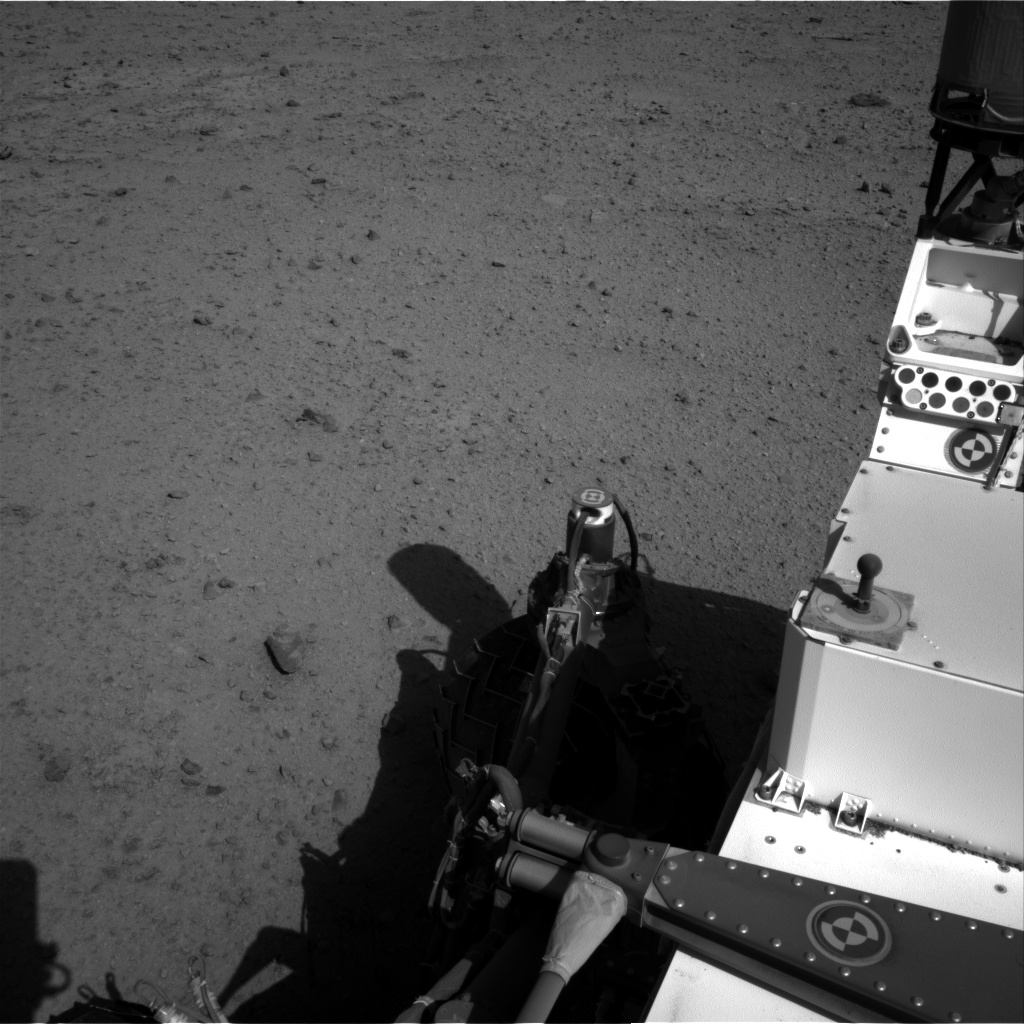 Nasa's Mars rover Curiosity acquired this image using its Right Navigation Camera on Sol 572, at drive 432, site number 30