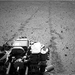 Nasa's Mars rover Curiosity acquired this image using its Left Navigation Camera on Sol 574, at drive 490, site number 30