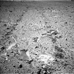 Nasa's Mars rover Curiosity acquired this image using its Left Navigation Camera on Sol 574, at drive 598, site number 30