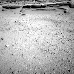 Nasa's Mars rover Curiosity acquired this image using its Left Navigation Camera on Sol 574, at drive 700, site number 30