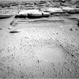 Nasa's Mars rover Curiosity acquired this image using its Left Navigation Camera on Sol 574, at drive 718, site number 30