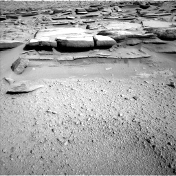 Nasa's Mars rover Curiosity acquired this image using its Left Navigation Camera on Sol 574, at drive 724, site number 30
