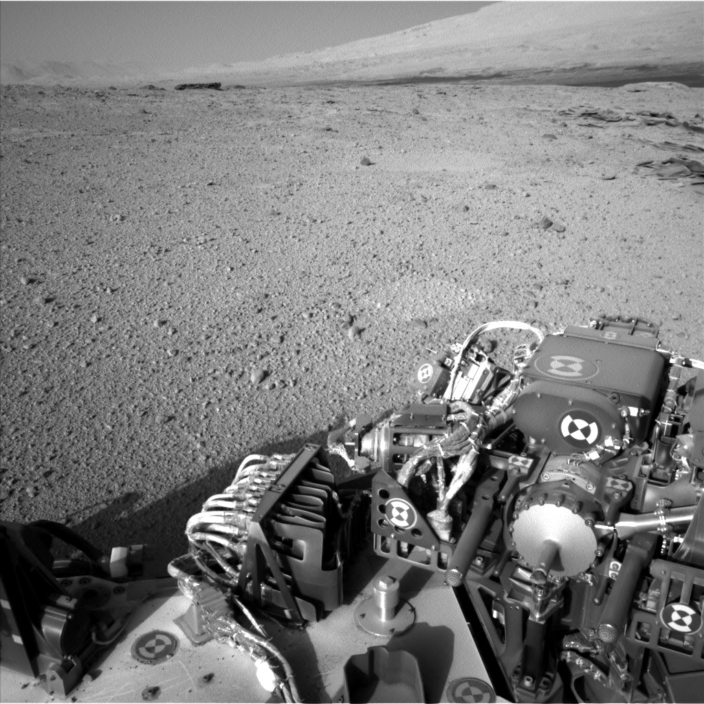 Nasa's Mars rover Curiosity acquired this image using its Left Navigation Camera on Sol 574, at drive 740, site number 30
