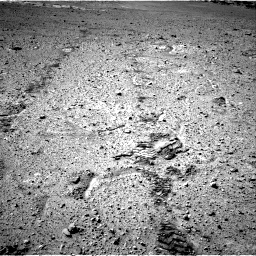 Nasa's Mars rover Curiosity acquired this image using its Right Navigation Camera on Sol 574, at drive 592, site number 30