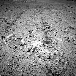 Nasa's Mars rover Curiosity acquired this image using its Right Navigation Camera on Sol 574, at drive 604, site number 30