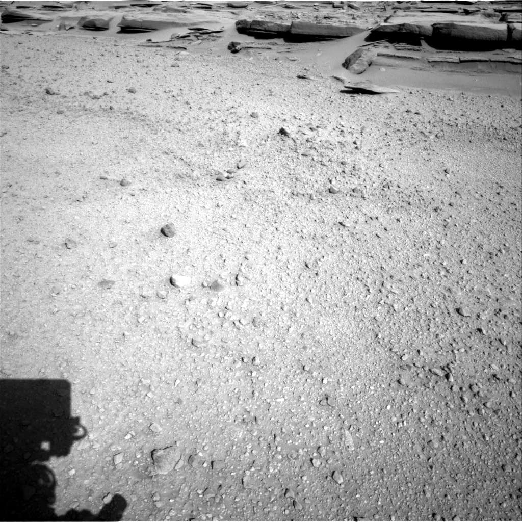 Nasa's Mars rover Curiosity acquired this image using its Right Navigation Camera on Sol 574, at drive 700, site number 30
