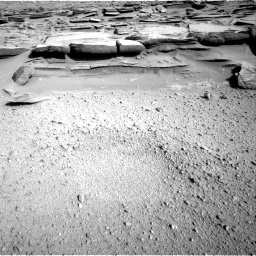 Nasa's Mars rover Curiosity acquired this image using its Right Navigation Camera on Sol 574, at drive 718, site number 30
