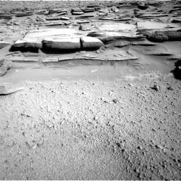 Nasa's Mars rover Curiosity acquired this image using its Right Navigation Camera on Sol 574, at drive 724, site number 30