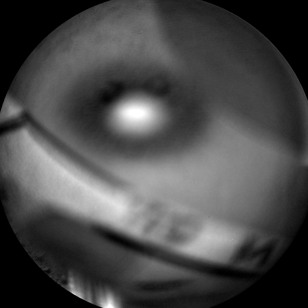 Nasa's Mars rover Curiosity acquired this image using its Chemistry & Camera (ChemCam) on Sol 575, at drive 740, site number 30