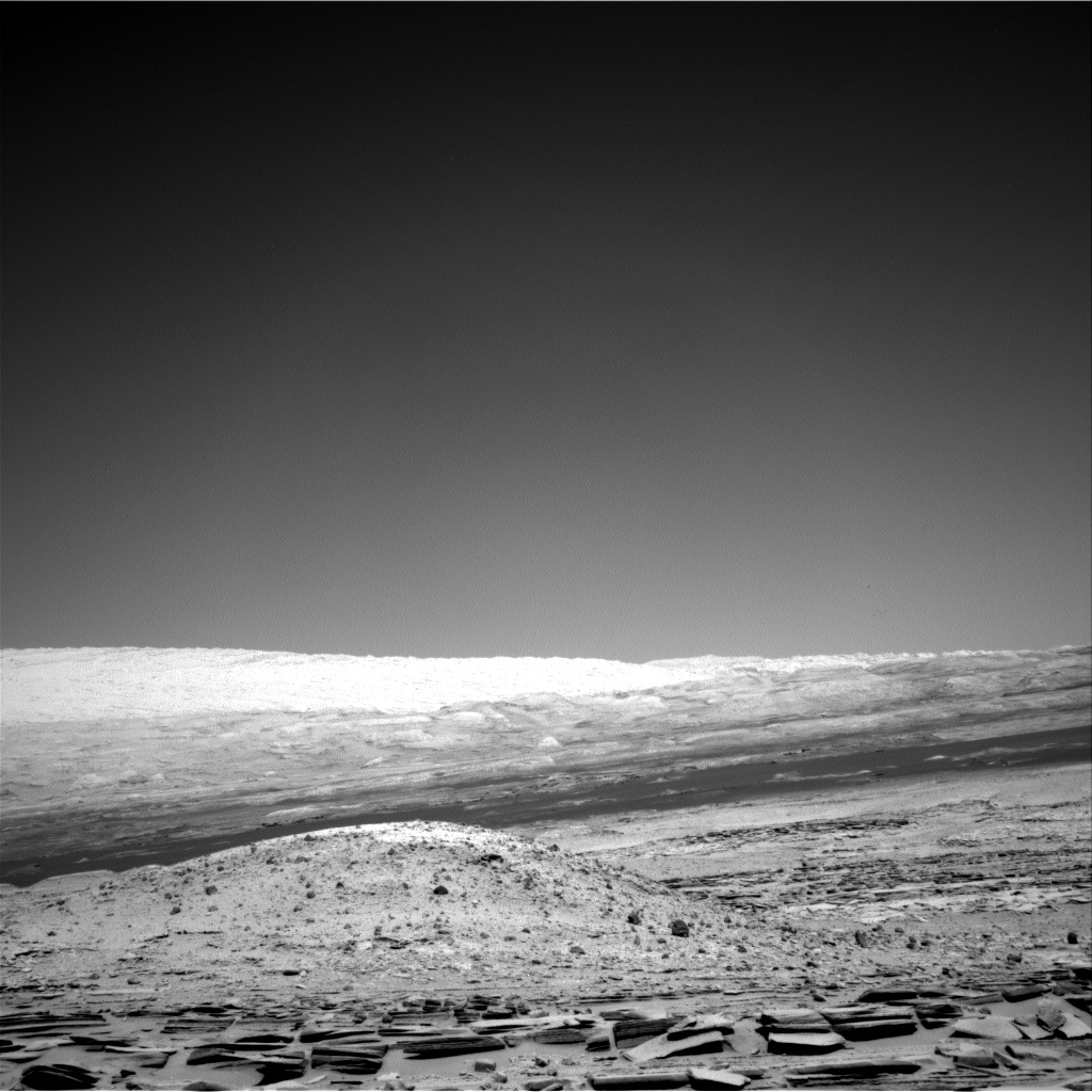 Nasa's Mars rover Curiosity acquired this image using its Right Navigation Camera on Sol 576, at drive 740, site number 30