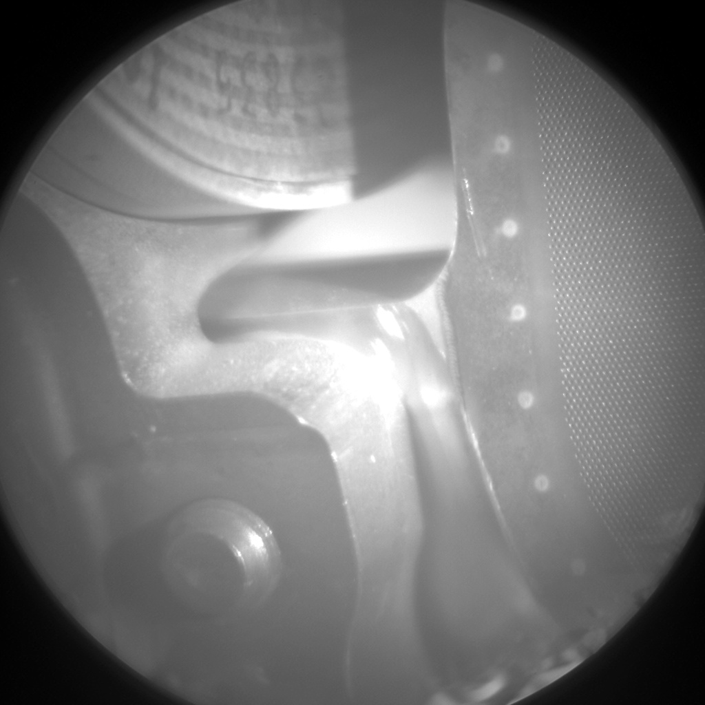 Nasa's Mars rover Curiosity acquired this image using its Chemistry & Camera (ChemCam) on Sol 578, at drive 740, site number 30