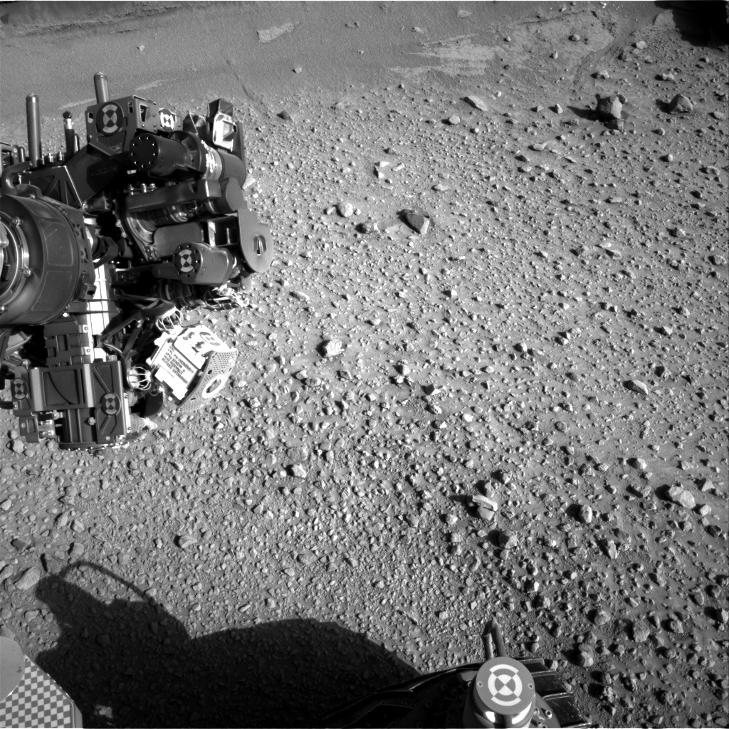 Nasa's Mars rover Curiosity acquired this image using its Right Navigation Camera on Sol 578, at drive 740, site number 30