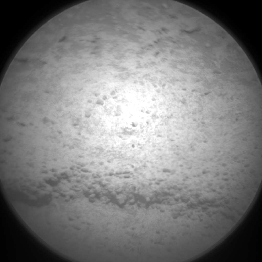 Nasa's Mars rover Curiosity acquired this image using its Chemistry & Camera (ChemCam) on Sol 579, at drive 740, site number 30