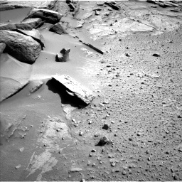 Nasa's Mars rover Curiosity acquired this image using its Left Navigation Camera on Sol 581, at drive 764, site number 30