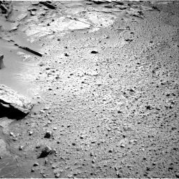 Nasa's Mars rover Curiosity acquired this image using its Right Navigation Camera on Sol 581, at drive 776, site number 30