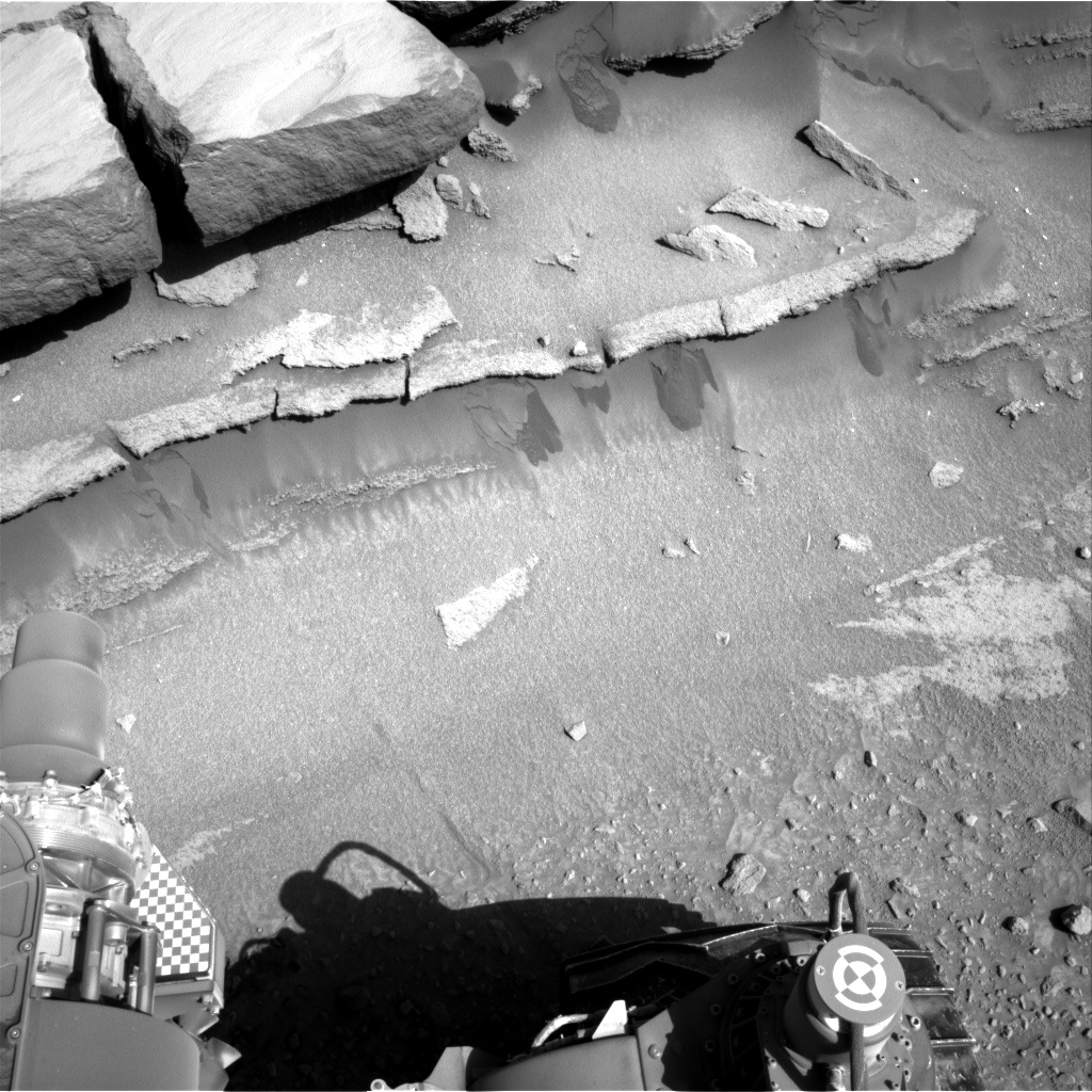 Nasa's Mars rover Curiosity acquired this image using its Right Navigation Camera on Sol 581, at drive 786, site number 30